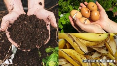 تولید خاک گلدان مغذی