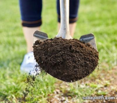 تقویت خاک گلدان