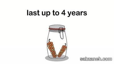 ذخیره سازی فلفل سیاه به شکل 4 ساله