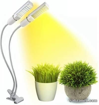 نور مصنوعی با لامپ