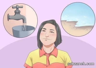 استفاده از آب تصفیه شده برای تراریوم